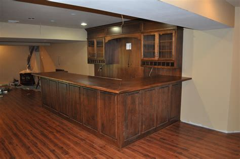 Decorating A Rental Home by Man Cave Bar