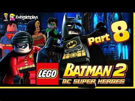 tutorial lego batman wii lego batman 2 walkthrough wii u part 8 the batcave is