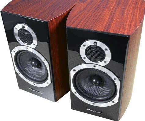 wharfedale diamond  bookshelf speakers rosewood