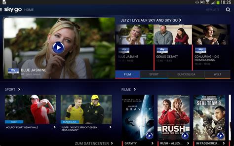 sky go mobile devices sky go app f 252 r android 252 berarbeitet fit f 252 r zus 228 tzliche