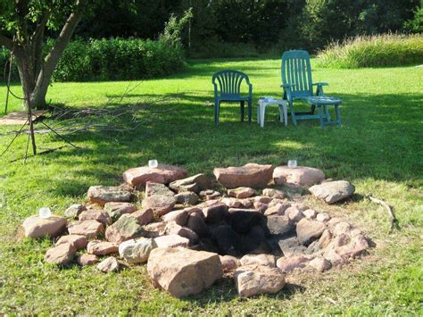 How To Build A Fire Pit In Your Backyard Backyard Fire How To Build A Pit In Your Backyard