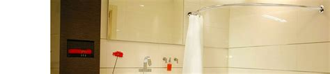 corner bath shower rail corner bath shower curtain rails