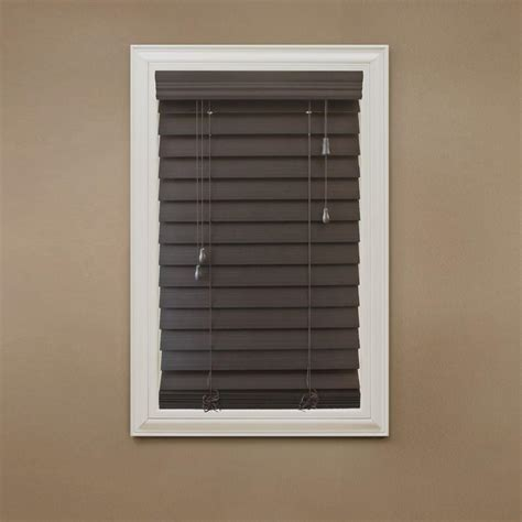 home decorators collection 2 inch faux wood blinds home decorators collection white cordless 2 in faux wood