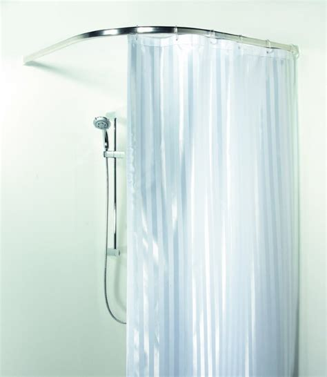 l shaped shower curtain rods interior strong but elegant styles of l shaped shower