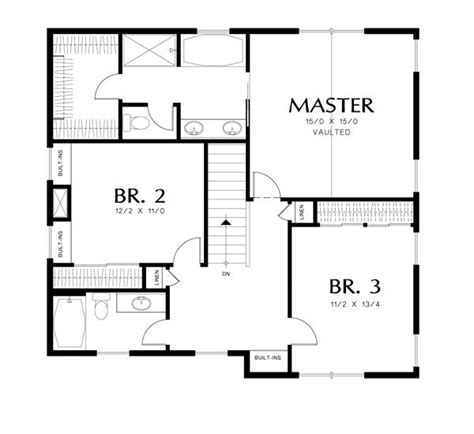 halstead house plan halstead 3052 4 bedrooms and 3 5 baths the house designers