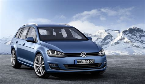 volkswagen golf wagon europeans get first at new golf variant wagon autoblog