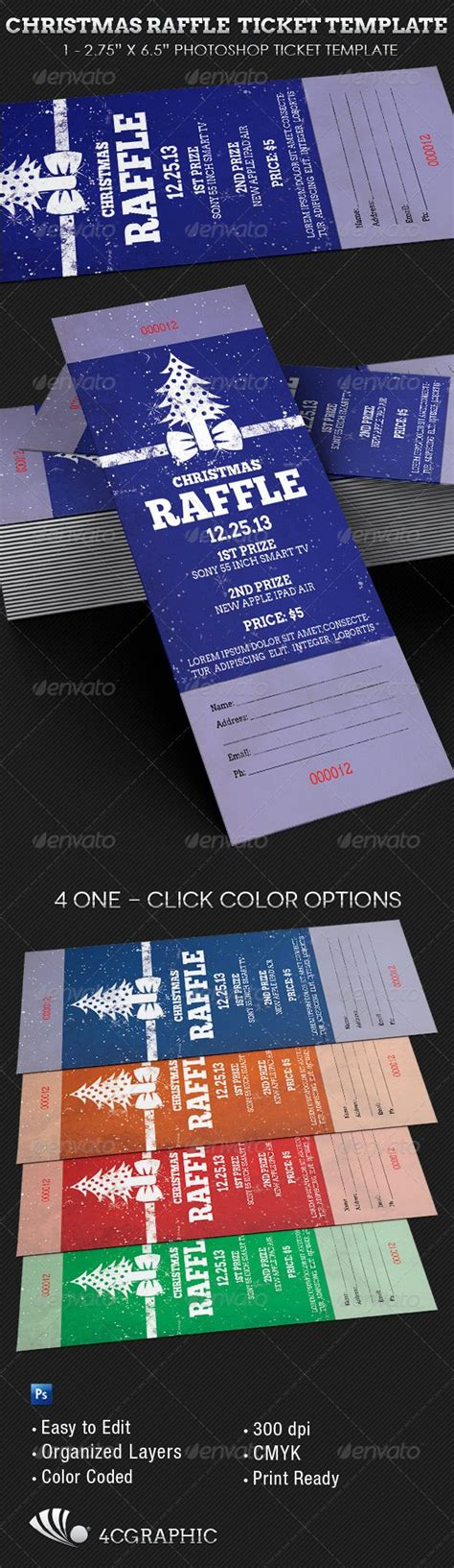 printable christmas raffle tickets best 20 ticket template ideas on pinterest ticket
