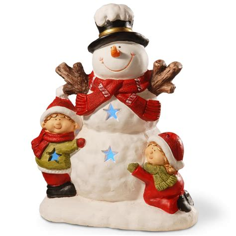7 Great Pieces Of Snowman Decor by Home Accents 17 In H Nativity Set 7