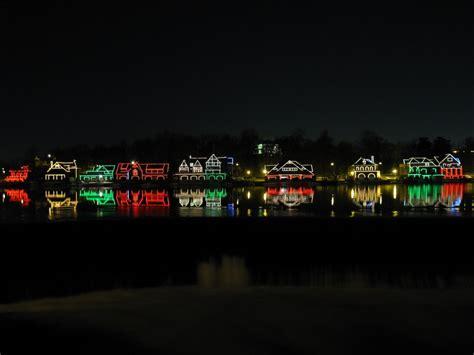 row boat lights at night panoramio photo of boat house row at night with xmas lights