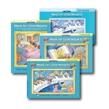 For Mozarts Lesson Book 4 for mozarts level 3 piano curriculem set lesson book discovery book workbook