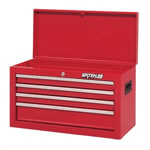 waterloo 4 drawer tool box waterloo sch 264rd f waterloo red tool chest 4 drawer