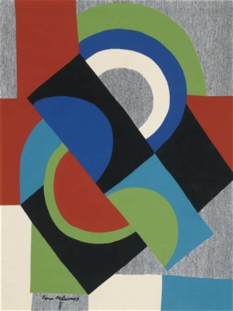 sonia delaunay spaightwood galleries contre point by sonia delaunay on artnet