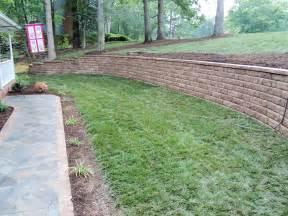 retaining walls designs backyard wall ideas and for yard