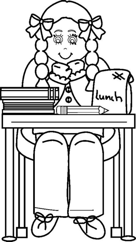 School Coloring Pages Coloringpages1001 Com School Coloring Page