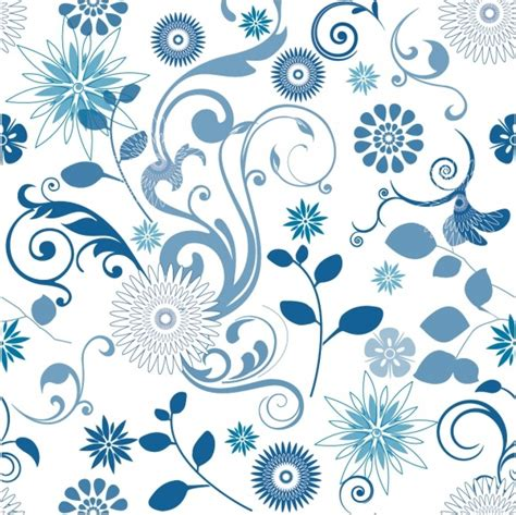 floral pattern cdr download blue pattern free vector download 24 109 free vector for