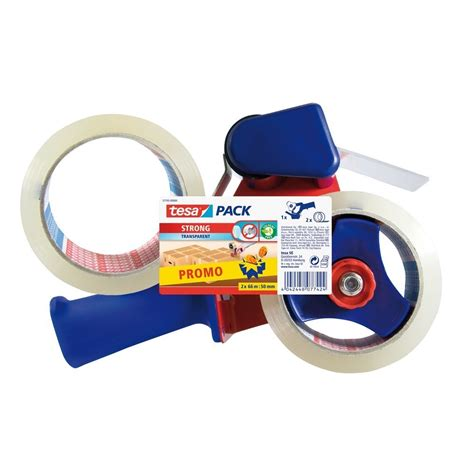 Toilet Tapes Kopen by Tesa Verpakkingstape Dispenser Transparant 2 Rollen 66