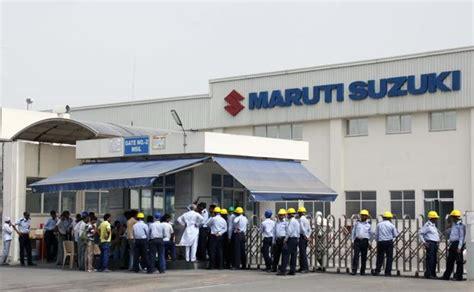 Maruti Suzuki India Limited Gurgaon Workers At Maruti Suzuki To Go On Strike On