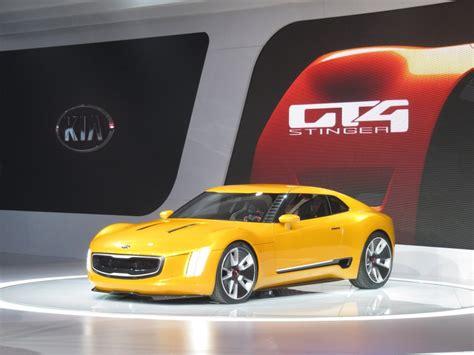sports car kia kia gt4 stinger concept at 2014 detroit auto show