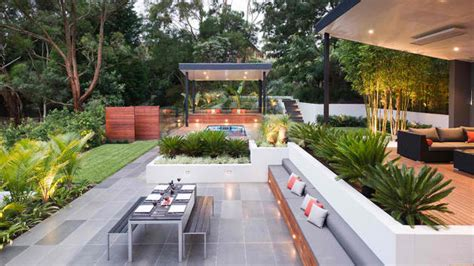Outdoor Küche Bilder Design Ideen by 15 Contemporary Backyard Patio Designs Home Design Lover