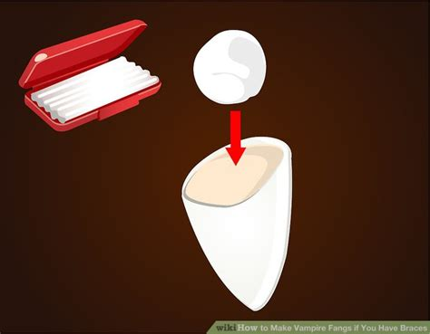 How To Make Braces With Paper - how to make fangs if you braces 12 steps