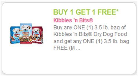 dog food coupons on phone new bogo free kibbles n bits coupon kroger sale