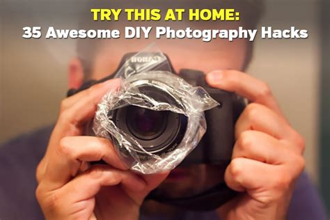 diy hack 35 awesome diy photography hacks