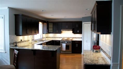 Kitchen Cabinet Refacing Vancouver Cabinet Refacing Done In Cherry Veneer Contemporary