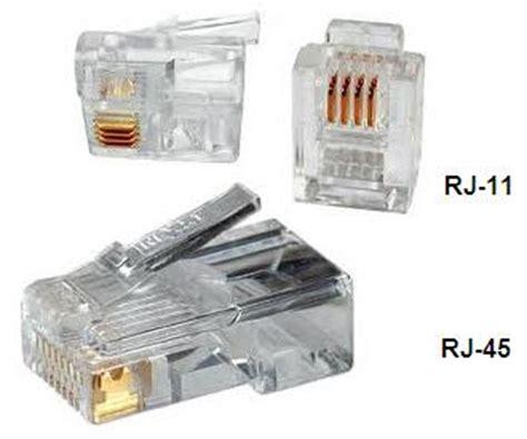 Konektor Rg 45 jual konektor rg45 jek rg 45 kabel jaringan network