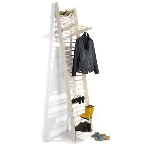 coat rack with shoe storage zeugwart shoe and coat rack efficient use of storage space