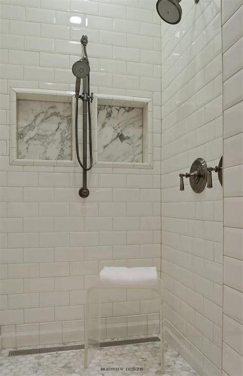 beveled subway tile shower beveled marble tiles design ideas