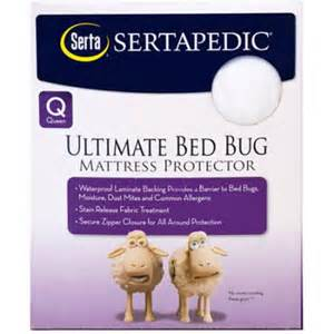 Walmart King Size Bed Bug Cover Sertapedic Ultimate Protection Bed Bug Mattress Encasement
