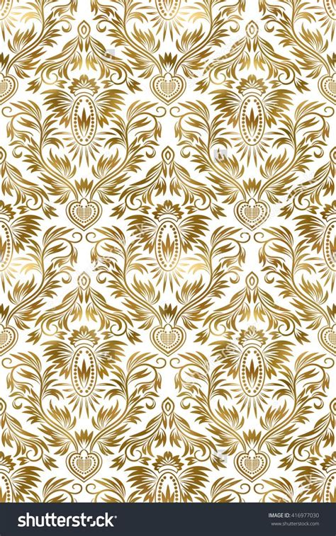 gold pattern pinterest golden white vintage seamless pattern gold royal classic