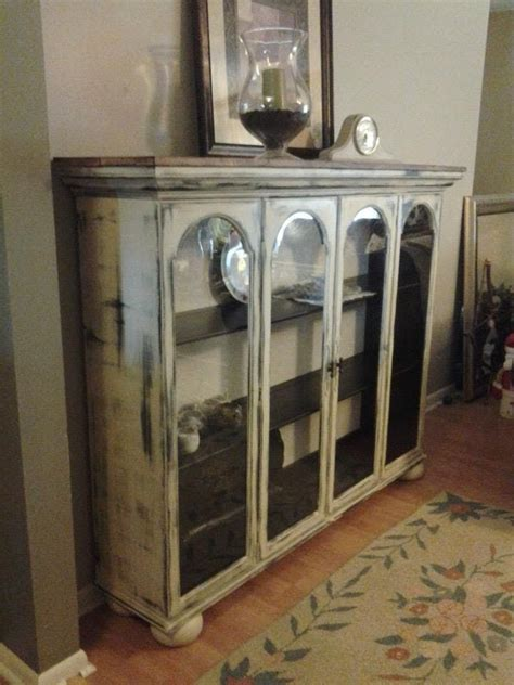 Top To A China Cabinet That We Repurposed Added Wood
