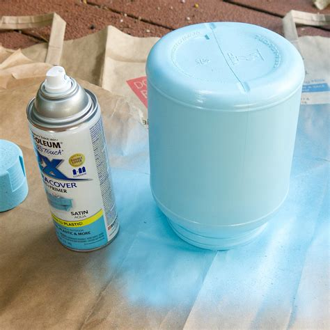 spray painting plastic spray painted plastic containers popsugar smart living