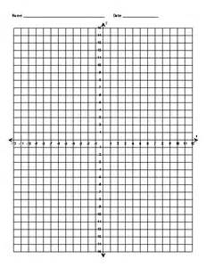 Coordinate Grid Template by Coordinate Grid Template Page Blank Numbered