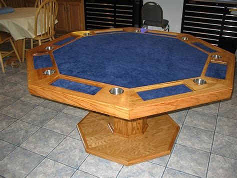 woodwork wooden poker table plans  plans
