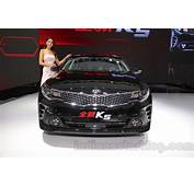 2016 Kia K5 Front At The 2015 Chengdu Motor Show  Indian