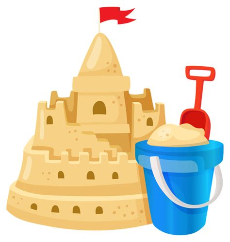 sand castle clip art many interesting cliparts