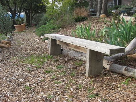 build a simple bench how to build simple garden benches for free flea market