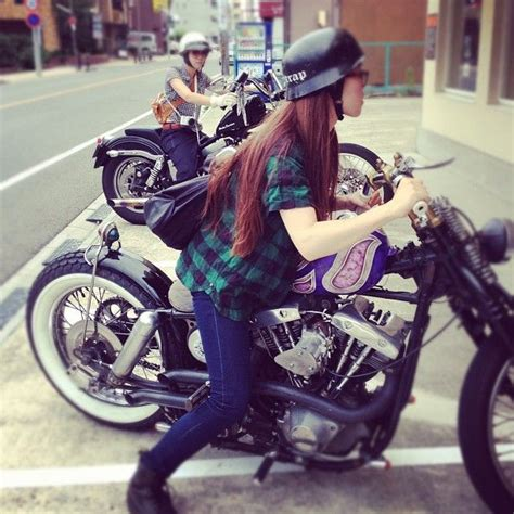 love  japanese biker girls