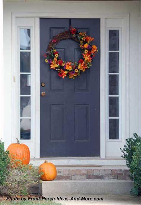 Thanksgiving Front Door Decorations by Outdoor Thanksgiving Decorations For Your Front Porch