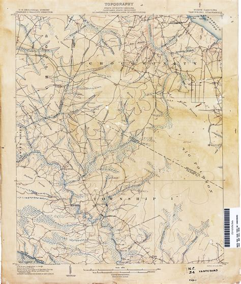 carolina historical topographic maps perry