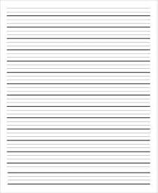wide lined writing paper 13 lined paper templates in pdf free premium templates