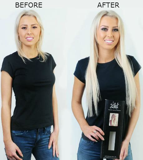 thin hair extensions before and after remy indian hair clip in extensions for short hair before and after