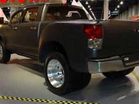 sema 2007: toyota tundra dually diesel   autoblog youtube