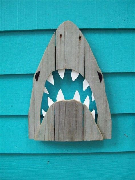 Wall Art For Game Room - 20 shark week projects sand and sisal