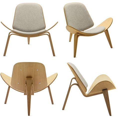 3 Legged C Chair by Three Legged Shell Chair Designed In 1963 Made From Bent