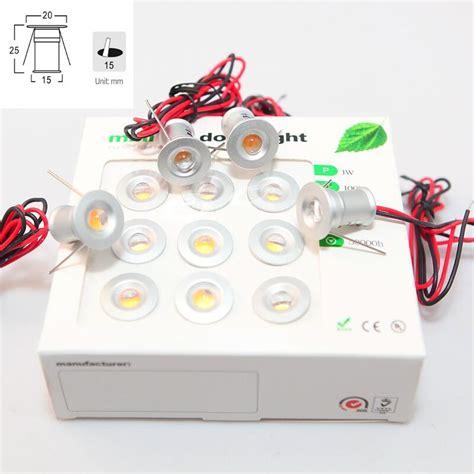 Jual Lu Led Dc 12 V 9pcs lot dc12v 1w led mini downlight bridgelux chip waterproof ip65 led spot light led cabinet