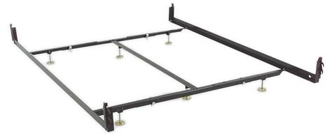 King Size Bed Frame Rails Hook On Low Profile Rail With Center Support King