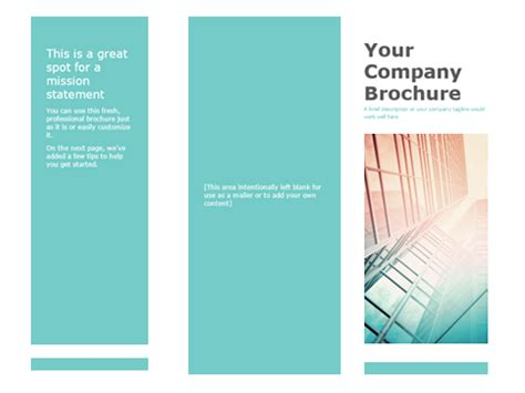 brochure layout in word brochures office com